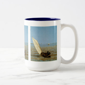 Starting Out After Rain Two-Tone Mug