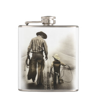 Starting Out Country Father's Day Flask