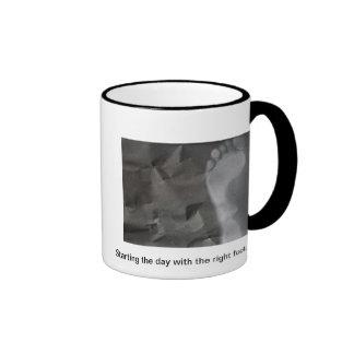 Starting the day... ringer mug