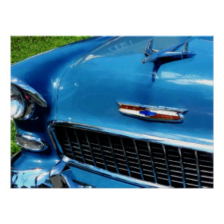 STARTING UNDER $20 - Bel Air Hood Ornament Poster