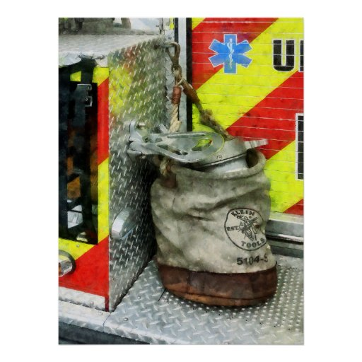 STARTING UNDER $20 - Bucket on Fire Truck Posters