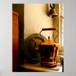 STARTING UNDER $20 -Copper Tea Kettle on Windowsil
