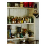 STARTING UNDER $20 - Hurricane Lamp in Pantry Posters