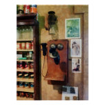 STARTING UNDER $20 - Old-Fashioned Telephone Poster