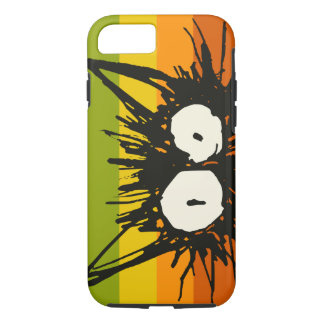 Startle Cat Orange Colourful iPhone 8/7 Case