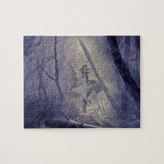 Startled Fairy Print Jigsaw Puzzle