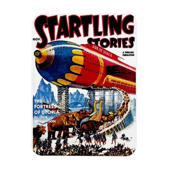 """Startling Stories"" Magnet"