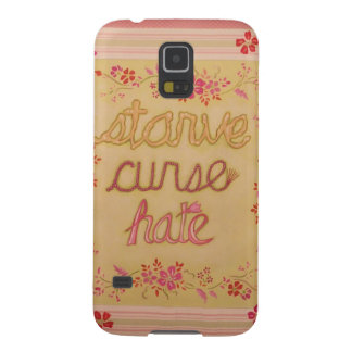 Starve Curse Hate Case For Galaxy S5