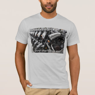 starVmax Grey Shirt design