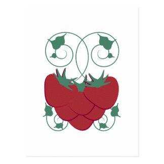 Starwberry Vine Postcard
