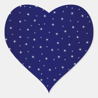 Stary Stary Night Heart Sticker
