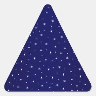 Stary Stary Night Triangle Sticker