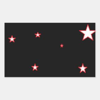 Starz Rectangular Sticker