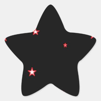 Starz Star Sticker