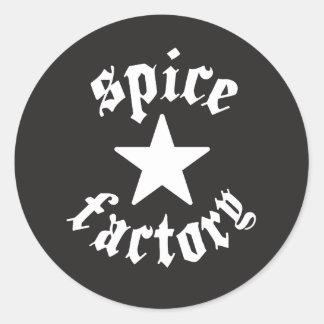 starz classic round sticker