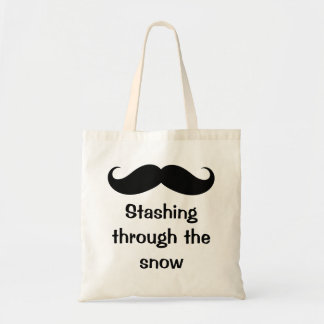 Stashing Through The Snow Mustache Bags