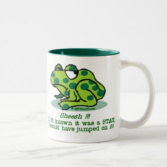 STAT Froggie Two-Tone Mug