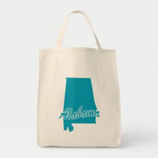 State Alabama Tote Bag