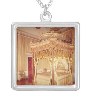 State Bed Chamber at Osterley Park Silver Plated Necklace