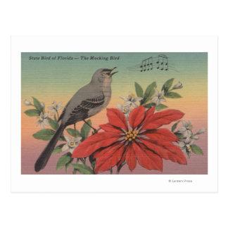 State Bird of FloridaMocking BirdFlorida Postcard