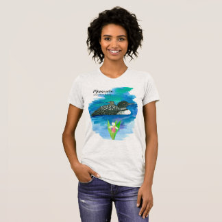 State Bird of Minnesota Common Loon T-Shirt