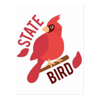 State Bird Postcard