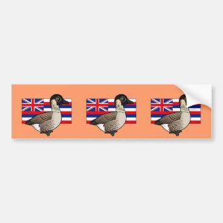 State Birdorable of Hawaii: Nene Bumper Sticker