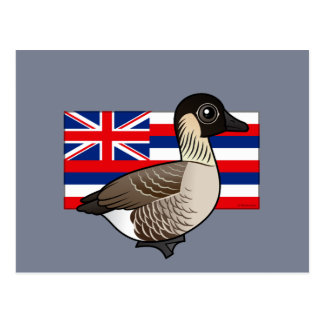 State Birdorable of Hawaii: Nene Postcard