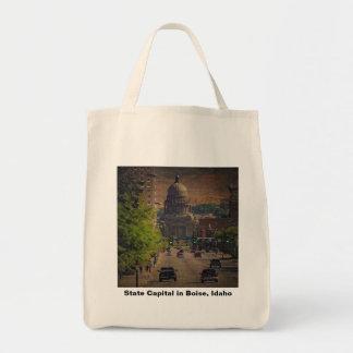 State Capital in Boise Idaho Tote Bag