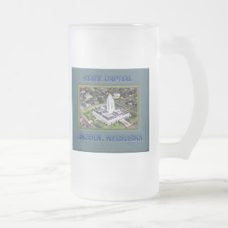 State Capital Lincoln Nebraska Coffee Mug