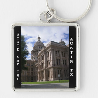 State Capitol Building Austin Texas Keychains