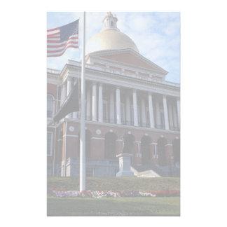 State Capitol Building, Boston, Massachusetts, U.S Customized Stationery