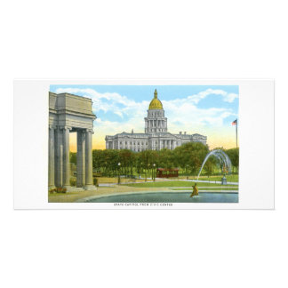 State Capitol, Denver, Colorad Photo Greeting Card