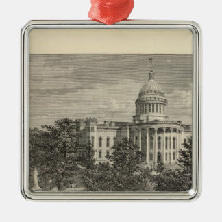 State Capitol, Madison, Wis Christmas Ornament