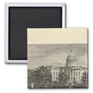 State Capitol, Madison, Wis Magnet