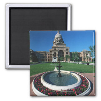 'State Capitol of Texas, Austin' Square Magnet