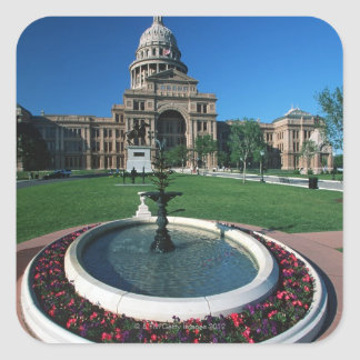 'State Capitol of Texas, Austin' Square Sticker