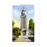 State Capitol Tower, Lincoln, Nebraska Postcard