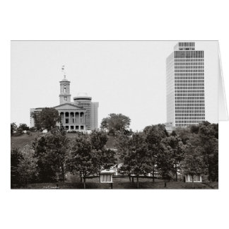 State Captiol Nashville Tennessee Greeting Card