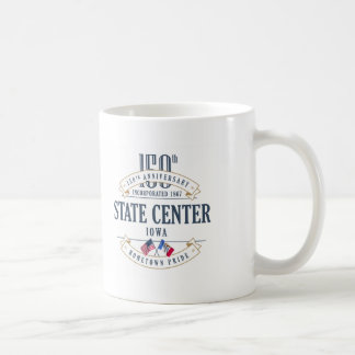 State Center, Iowa 150th Anniversary Mug
