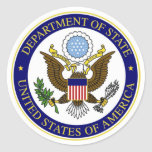 State Department Sticker
