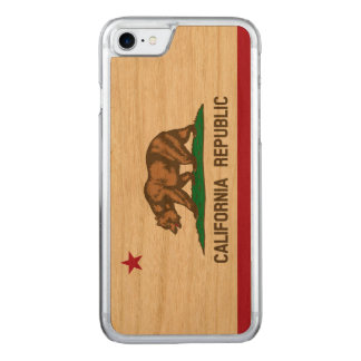 State Flag of California Republic Carved iPhone 7 Case