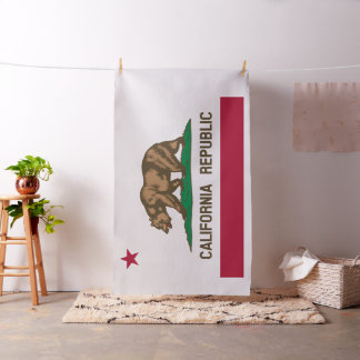 State Flag of California Republic Fabric