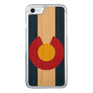 State Flag of Colorado Carved iPhone 7 Case