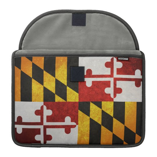 State Flag of Maryland Sleeve For MacBook Pro