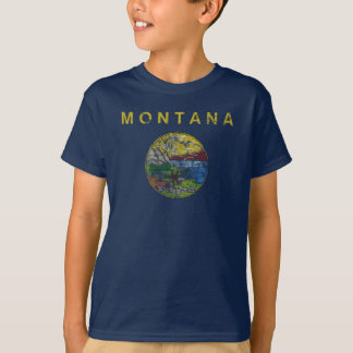 State Flag of Montana T-Shirt