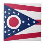 State Flag of Ohio Ceramic Accent Tile