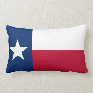 State Flag of Texas Lumbar Cushion