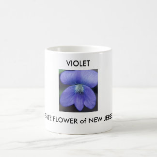 STATE FLOWER of NEW JERSEY, VIOLET Coffee Mug