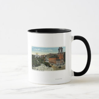 State House and Park Street View from the Mall Mug